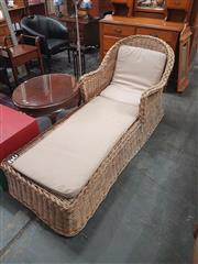 Sale 8676 - Lot 1141 - Cane Sunbed