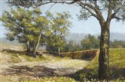 Sale 8711 - Lot 2069 - F Maher - Landscape, 1991 49.5 x 74.5cm