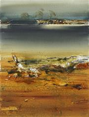 Sale 8713 - Lot 568 - Geoffrey Dyer (1947 - ) - King River I 57 x 76cm