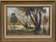 Sale 8716 - Lot 2029 - Peter Abraham (1926 - 2010) - Hot Grass 31.5 x 46.5cm