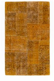 Sale 8715C - Lot 188 - A Persian Patchwork Pure Wool Pile, 156 X 96Cm