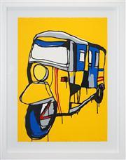 Sale 8411A - Lot 5024 - Jasper Knight (1978 - ) - Red Stripe 76.5 x 55.5