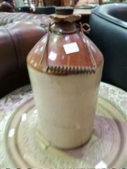 Sale 8462 - Lot 1050 - Ceramic Demijohn
