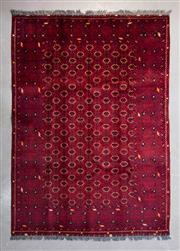 Sale 8480C - Lot 23 - Afghan Qunduzi 200cm x 150cm