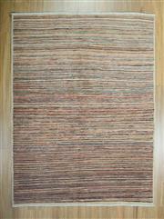 Sale 8625C - Lot 72 - Afghan Chobi Stripe 195cm x 140cm