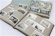 Sale 8654 - Lot 47 - A pair of early Australian black and white photo albums