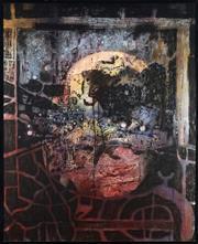 Sale 8838A - Lot 5153 - Karl O Homez - Untitled 158.5 x 128.5cm