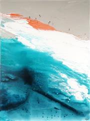 Sale 9013 - Lot 512 - Cheryl Cusick - White Water II 121.5 x 91 cm (total: 120 x 90 x 4 cm)