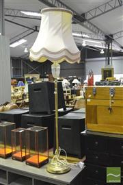 Sale 8368 - Lot 1032 - Brass Standard Lamp