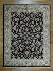 Sale 8625C - Lot 73 - Jaipor Silk & Wool 247cm x 319cm