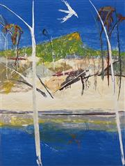 Sale 8652 - Lot 564 - Arthur Boyd (1920 - 1999) - Pulpit Rock Landscape, 1994 80 x 60.5cm