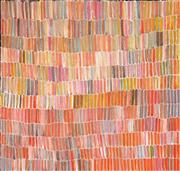 Sale 8642 - Lot 520 - Jeannie Mills Pwerle (1965 - ) - Bush Yam 95 x 100cm