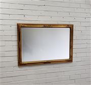 Sale 9080 - Lot 1059 - Ornate gilt framed bevelled edge mirror (h:102 x w:72cm)