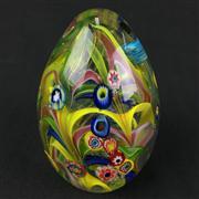 Sale 8402D - Lot 15 - Castellani Millefiori Art Glass Paperweight (Height - 11cm)