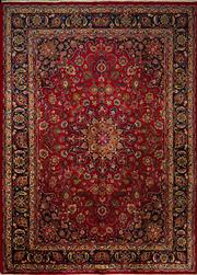 Sale 8444A - Lot 26 - A Persian Mashad pure wool carpet, 340cm x 246cm