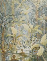 Sale 8704A - Lot 5032 - Anneke Silver (1937 - ) - Rainforest Journey, 1985 74 x 54cm