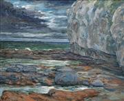 Sale 8722A - Lot 5066 - William Torrance (1912 - 1988) - Seascape 50 x 61.5cm
