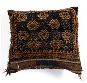 Sale 8715C - Lot 179 - A Persian Handmade Cushion, 100% Wool, 50 X 50Cm