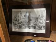 Sale 8945 - Lot 2109 - Print of International Exhibition Building Sydney, 1879