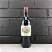 Sale 8987 - Lot 602 - 1x 1979 Chateau Lafite-Rothschild, 1er Cru Classe, Pauillac - level at base of neck