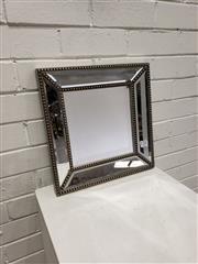 Sale 9080 - Lot 1041 - Mirror framed mirror (h:38 x w:38cm)