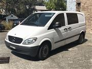 Sale 8416V - Lot 4002 - 2007 Mercedes Benz, 5 door Vito Van, BEM77Y, 4 cylinder 2.1 litre diesel, registered till 09/01/2018. Authorised as a 5 seater vehic...