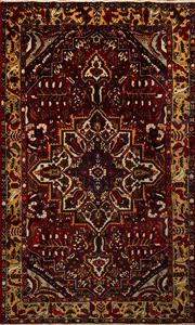 Sale 8444A - Lot 74 - A Persian Bakhtiari pure wool carpet, 345cm x 210cm
