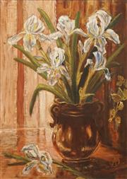 Sale 8604 - Lot 2006 - Artist Unknown - Still Life (Easter Lilies) 55 x 39cm