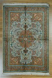 Sale 8625C - Lot 74 - kasmiri Silk 182cm x 125cm