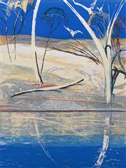 Sale 8652 - Lot 532 - Arthur Boyd (1920 - 1999) - River Bride Landscape I 80.5 x 60.5cm