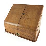 Sale 8795K - Lot 268 - An oak desk tidy