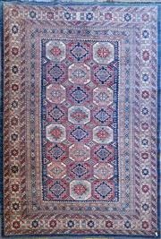 Sale 8822 - Lot 1808 - Afghan Kazak (295 x 199cm) - Certificate in Office