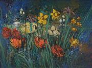 Sale 8881 - Lot 502 - Colleen Parker (1944 - 2008) - Floral Potpourri 45 x 60 cm