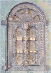 Sale 8971 - Lot 1057 - Small Castle Door (H:35 x W:42cm)