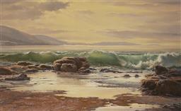 Sale 9084 - Lot 569 - Melvin Duffy (1930 - ) - Towards Pretty Point, NSW 73.5 x 120.5 cm (frame: 94 x 104 x 4 cm)