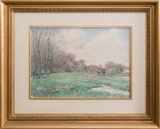 Sale 8375A - Lot 67 - William V. H Coffey - Pastoral Scene 1911 23 x 33 cm