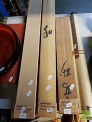 Sale 8544 - Lot 2081 - Japanese Scroll Wa Character with Box