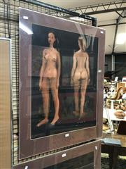 Sale 8759 - Lot 2044 - Paul Delprat - Female Nude Studies, 1978 64 x 49cm