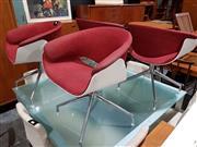 Sale 8765 - Lot 1058 - Set of 4 B&B Italia Tub Chairs