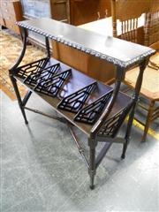 Sale 7943A - Lot 1504 - Mahogany Magazine Rack