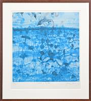 Sale 8330A - Lot 61 - John Olsen (1928 - ) - Sunbird & Lily Pond 65 x 61.5cm