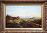 Sale 8443 - Lot 574 - Artist Unknown (XIX - XX) - Countryscape 61.5 x 97.5cm