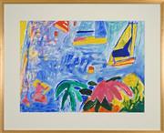 Sale 8459 - Lot 517 - Ken Done (1940 - ) - Untitled, 2002 55 x 74cm