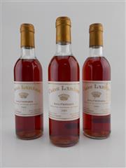 Sale 8479 - Lot 1825 - 3x 1983 Chateau Rieussec Clos Labere, Sauternes - 375ml
