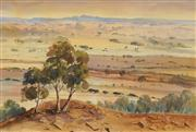 Sale 8652A - Lot 5018 - Connie Walker (1924 - 2017) - Inland Country 53 x 79cm