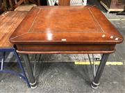 Sale 8822 - Lot 1281 - Metal Based Coffee Table