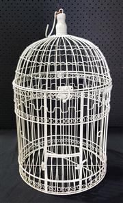 Sale 8971 - Lot 1083 - Small Bird Cage (H:51 x D:31cm)