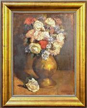 Sale 9015J - Lot 10 - Justin OBrien - Floral 60x44cm