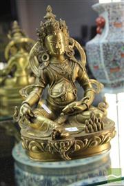 Sale 8285 - Lot 9 - Bronze Buddha Figure