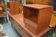 Sale 8338 - Lot 1087 - Pair of G-Plan Teak Bedside Lockers